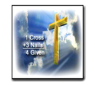 Обои на телефон небеса, пасхальные, любовь, крест, исус, господин, one cross, nails, love, forgiven