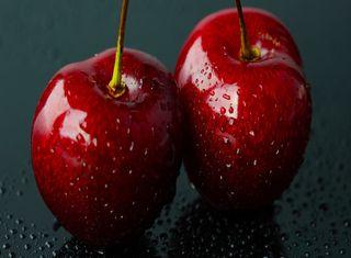 Обои на телефон вишня, фрукты, свежие