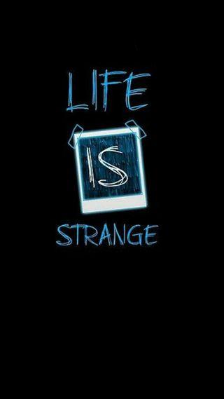 Обои на телефон странный, жизнь, черные, обложка, life is strange