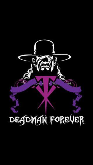 Обои на телефон wwe, undertaker, deadman