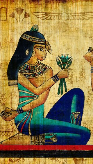 Обои на телефон история, картина, египетский, египет, papyrus, egyptian papyrus