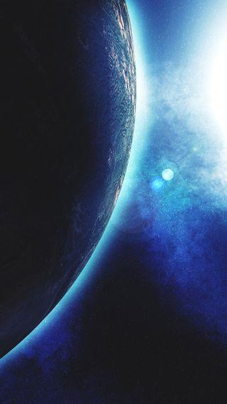 Обои на телефон фантастика, тишина, темные, синие, наука, космос, корабли, sci, fi, dark silence, abyss