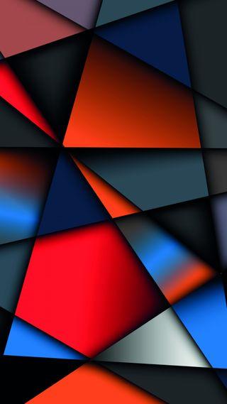 Обои на телефон формы, геометрические, материал, красочные, абстрактные, angles, 1080p