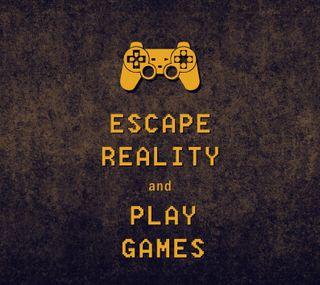 Обои на телефон управление, реальность, видео, игры, высказывания, escape reality