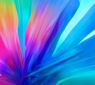 Обои на телефон цветы, фиолетовые, синие, розовые, желтые, абстрактные, m812 flower s5, m812, infocus