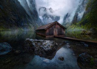 Обои на телефон поход, озеро, домик