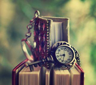 Обои на телефон часы, учиться, книга, деньги, время, time is money, keychain, coom