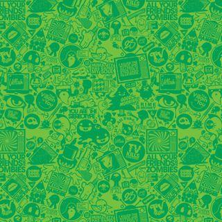 Обои на телефон креативные, шаблон, фон, зеленые, whatsapp