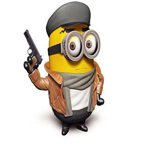 Обои на телефон дети, оружие, мультфильмы, миньоны, for kids, cartoon minion
