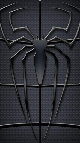 Обои на телефон фотографии, черные, реал, паук, охота, новый, логотипы, spider logo, black spider logo, black spider