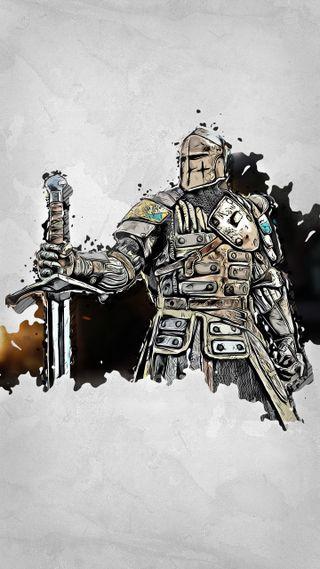 Обои на телефон честь, warden, for honor