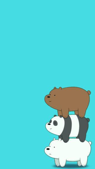 Обои на телефон сеть, медведи, мультфильмы, милые, bearstack