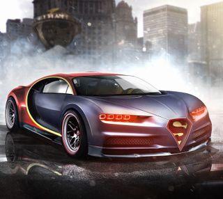 Обои на телефон чирон, бугатти, супермен, суперкары, машины, марвел, s car, marvel, bugatti chiron, bugatti