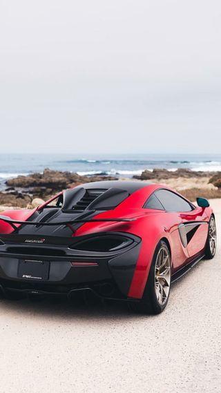 Обои на телефон суперкары, спортивные, пляж, машины, макларен, красые, гиперкар, вайб, америка, mclaren, beach vibes, 570