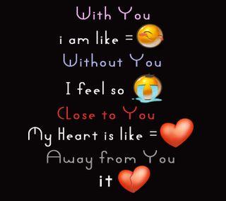 Обои на телефон чувства, ты, повредить, грустные, приятные, милые, любовь, without you, smileys, love