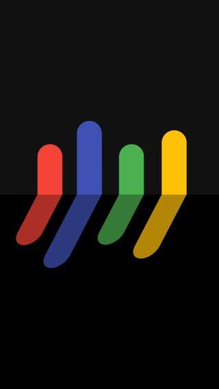 Обои на телефон плоские, черные, цветные, темные, материал, амолед, абстрактные, reflections black, amoled