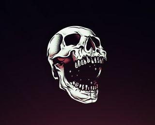 Обои на телефон смерть, череп, death skull hd