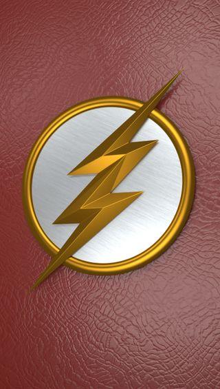 Обои на телефон флэш, супергерои, символ, логотипы, комиксы, speedster, dc comics superhero, dc