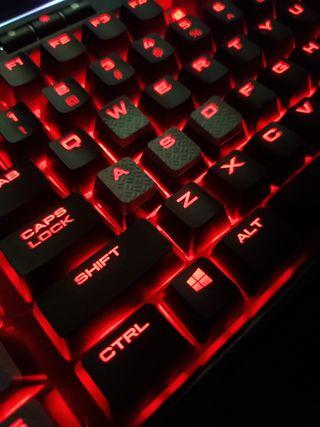 Обои на телефон клавиатура, игровые, rgb, pc, gaming keyboard, corsair
