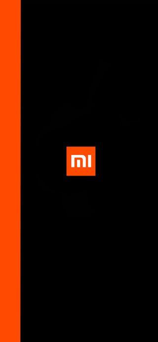 Обои на телефон редми, черные, сяоми, простые, оранжевые, ми, логотипы, грани, амолед, xiaomi logo, xiaomi, redmi, pocofone, hd, amoled