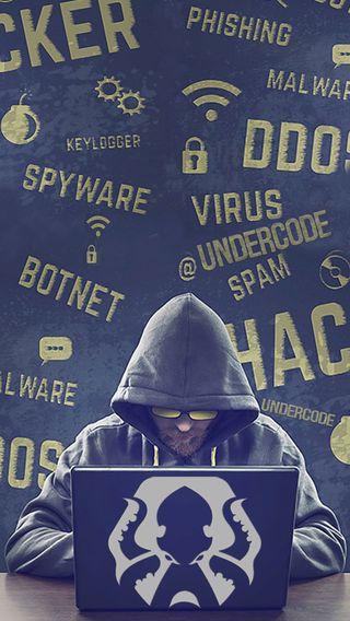 Обои на телефон хакер, тема, осьминог, underc0de hacker 1, underc0de, spyware, pulpo, bonet
