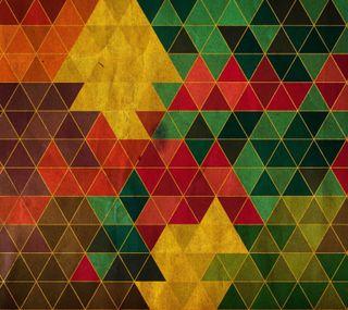 Обои на телефон треугольники, черные, цвета, треугольник, красые, коричневые, зеленые, желтые