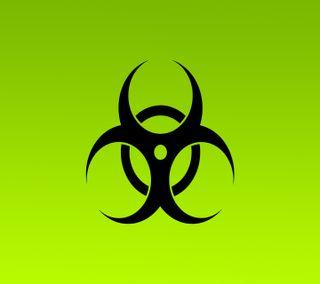 Обои на телефон логотипы, биологическая опасность, biohazard - 001