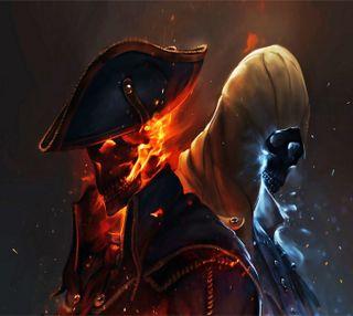 Обои на телефон ассасин, флаг, темные, крид, игра, assassins creed 4