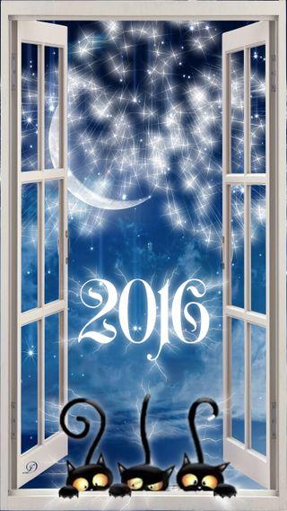 Обои на телефон фейерверк, ночь, новый, xando, sylvester, nightsky, 2016