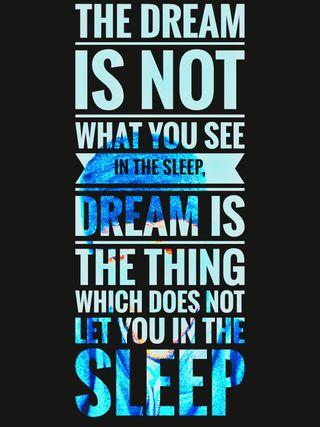 Обои на телефон мечта, цитата, текст, высказывания, the dream, teach, lessons