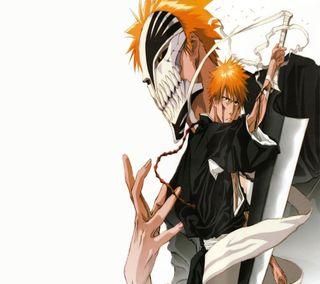 Обои на телефон ичиго, блич, аниме, kurosaki, bleach - ichigo