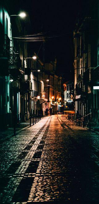 Обои на телефон дождь, ночь, город, puerto, jerusalem