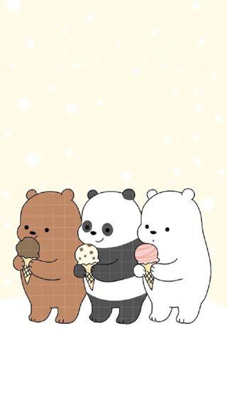 Обои на телефон привет, медведи, животные, hello