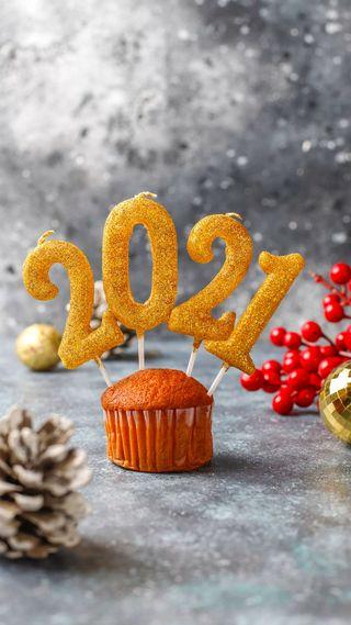 Обои на телефон украшение, торт, счастливые, рождество, празднование, новый, 2021