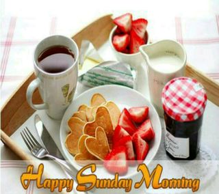 Обои на телефон чай, цветы, утро, счастливые, sunday good morning, happy sunday
