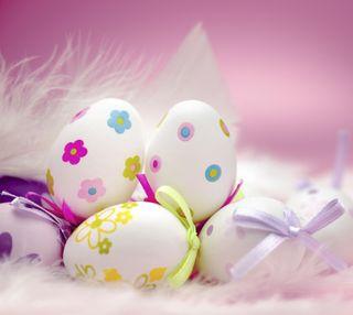 Обои на телефон яйца, пасхальные, easter eggs