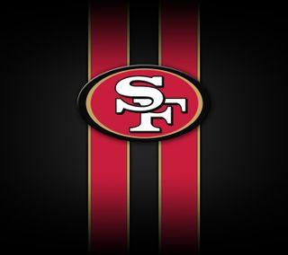Обои на телефон футбол, сан, логотипы, niners, nfl, francisco, forty, 49ers, 49