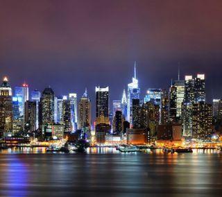 Обои на телефон рокки, приятные, последние, огни, нью йорк, новый, любовь, крутые, здания, newyork lights hd, love, 2012