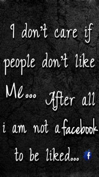 Обои на телефон забота, я, фейсбук, отношение, не, лайк, крутые, i dont care