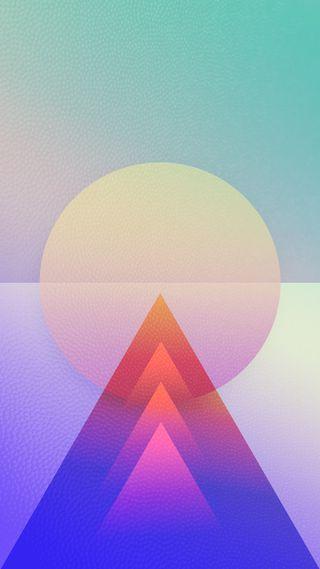Обои на телефон геометрия, яркие, формы, треугольник, текстуры, простые, круги, геометрические, арт, абстрактные, slick, geometric art, arty, art