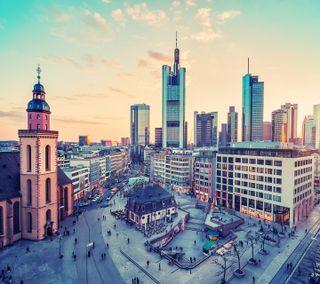 Обои на телефон улица, красочные, здания, городской пейзаж, город, hdr, annex