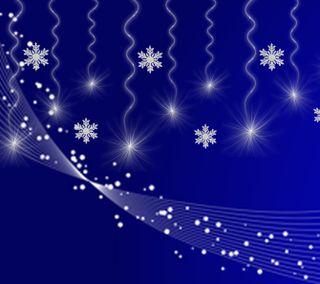 Обои на телефон синие, рождество, зима, звезды, 2160x1920px, christmastime