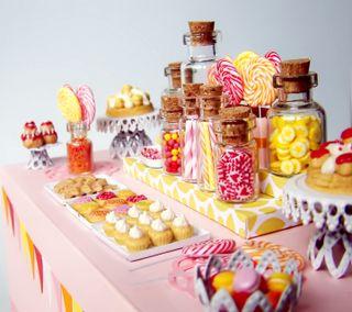 Обои на телефон конфеты, еда, цветные
