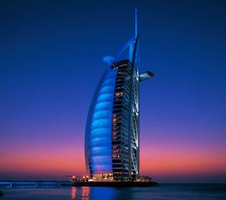 Обои на телефон оаэ, архитектура, здания, дубай, бурдж, арабские, burj al arab