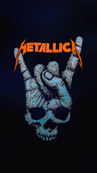 Обои на телефон дьявол, череп, тяжелый, металлика, металл, логотипы, thrash metal, devil horns