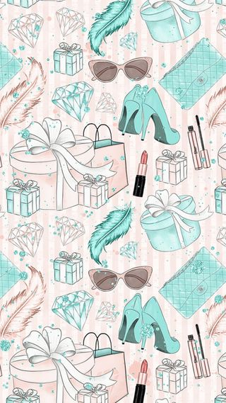 Обои на телефон солнечные очки, розовые, макияж, девчачие, бриллианты, pastels, heels