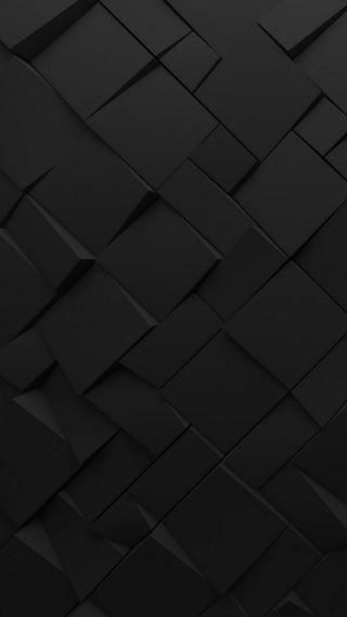 Обои на телефон 3d, chaotic art, polygons, surface polygonal, абстрактные, черные, арт, 3д, квадраты, поверхность