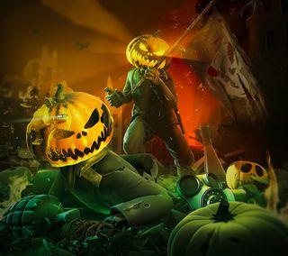 Обои на телефон жуткие, цветные, хэллоуин, тыква, темные, страшные, зло, арт, helloween, art
