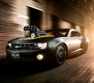 Обои на телефон колеса, черные, супер, скорость, новый, машины, камаро, гоночные, автомобили, авто, super camaro, rimms