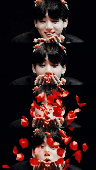 Обои на телефон лепестки, чонгук, цветы, кпоп, бтс, kpop, jungkooks petals, jeon, bts